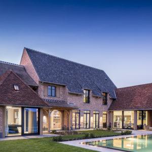 Villa met burelen ZELE